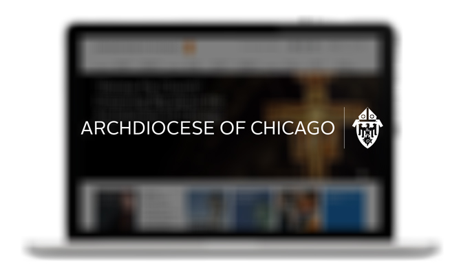 Archdiocese of Chicago Screen Shot.